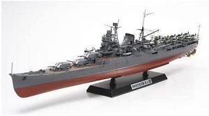 Maqueta de crucero japonés Mogami