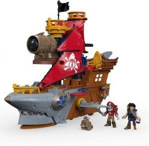 Barco Pirata Tiburón