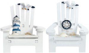 Adorno de Decoración en Miniatura Náutica de Playa