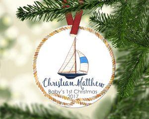 Adorno navideño, diseño de navidad, diseño náutico