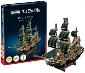 Barco Pirata 3D Puzzle