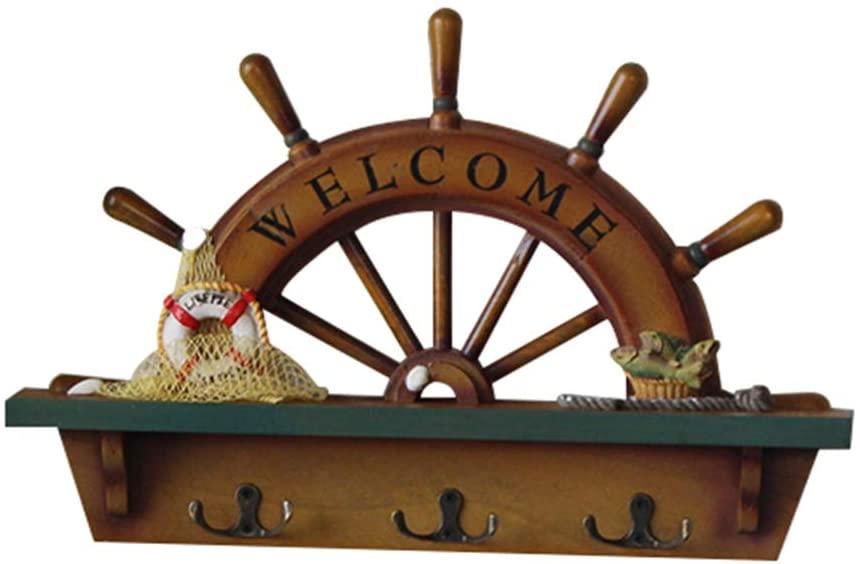 gancho de pared timon barco