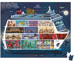puzzle Barco DE Crucero