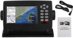 Pantalla LCD en color de 5 pulgadas Navegador GPS satelital marino