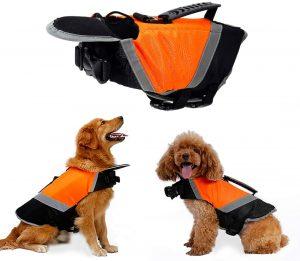 chaleco salvavidas mascota