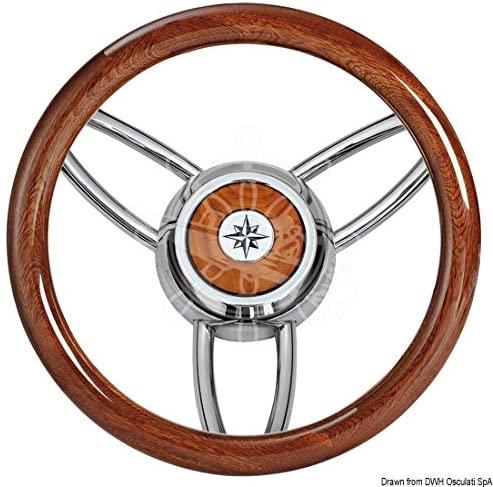 volante de lujo para barcos pulido