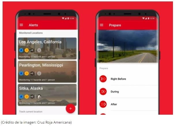 Emergencia: alertas (Android; iOS)