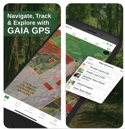 GPS Gaia PARA iPhone