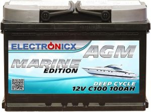 bateria para barco