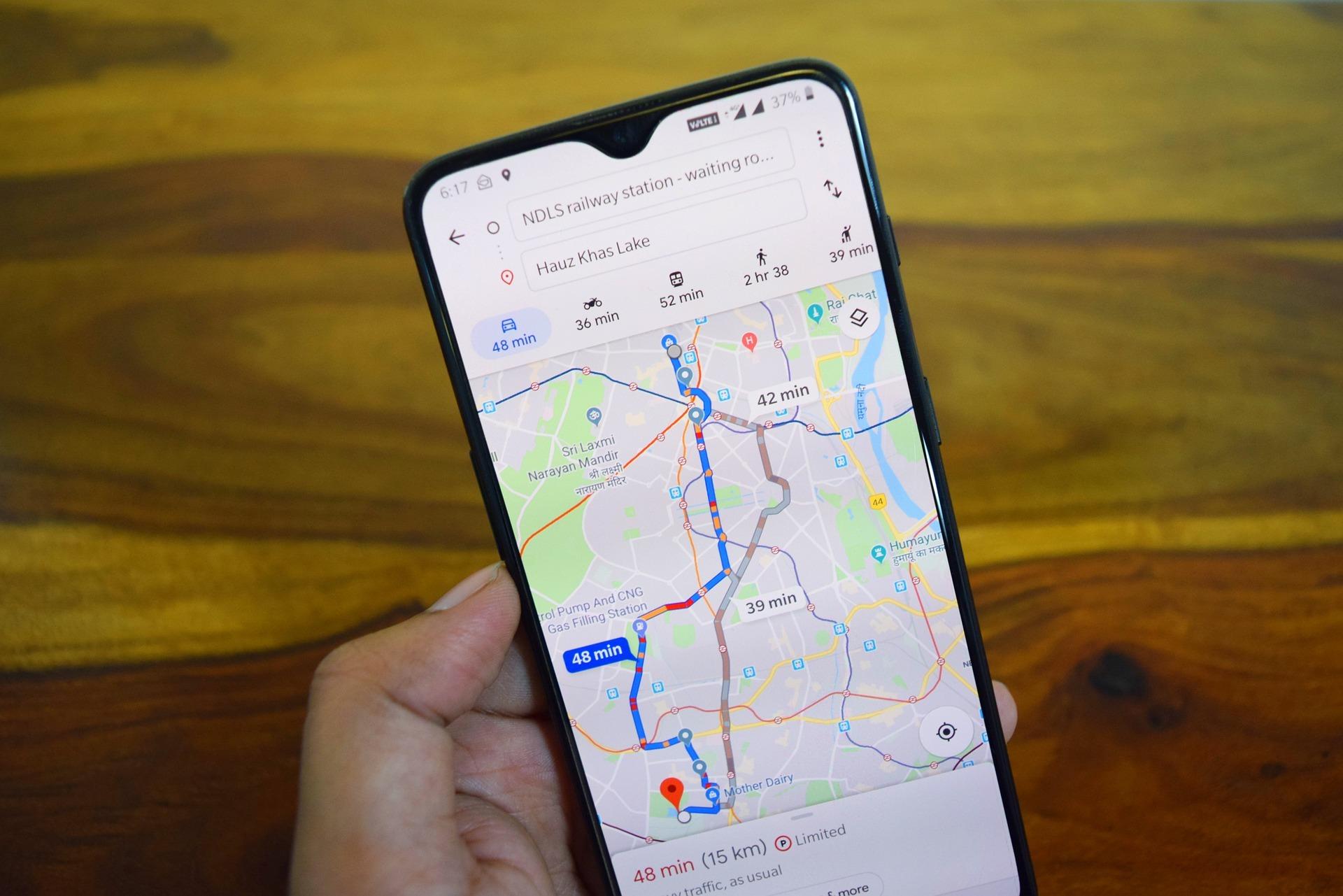 mapas de google app