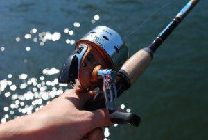 cañas de pescar mar