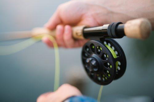 caña de pescar guia