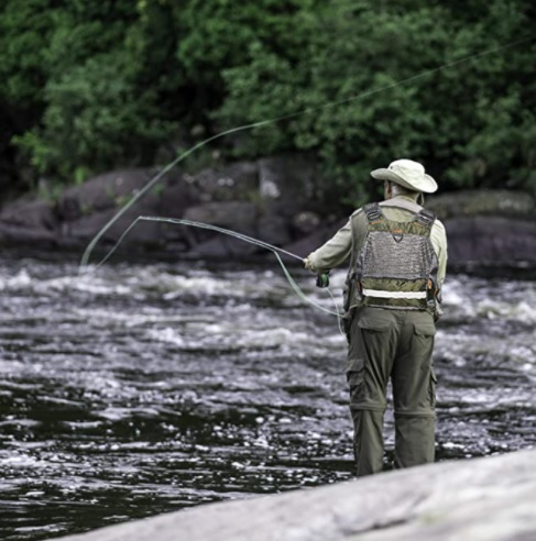 chaleco de pesca
