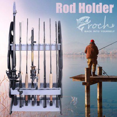 Soporte Porta Cañas de Pescar